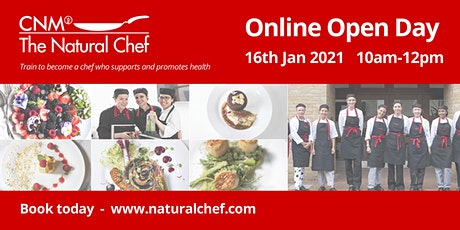 Natural Chef Online Open Day tickets