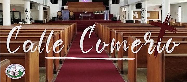 Imagen de Culto de Adoración y Predicación al Señor.