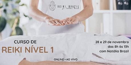 """Formação em Reiki Nível 1 - por Reiki Brazil . USE O CUPOM """"nivel1reiki"""" ingressos"""