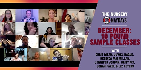 Online Ten Pound Sample Improv Classes tickets
