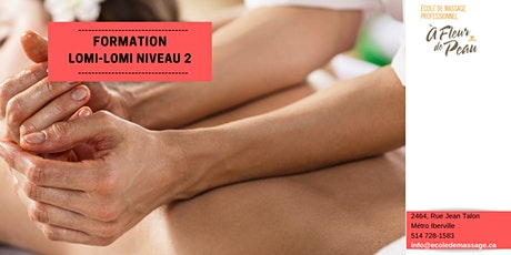 Massage Lomi-Lomi 2 (15h) billets