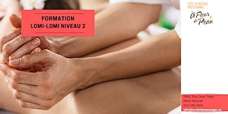 Massage Lomi-Lomi 2 (15h) billets