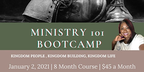 Ministry 101 Bootcamp 8 Month Course tickets