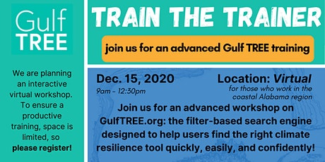 Gulf TREE Train the Trainer Workshop - Alabama tickets