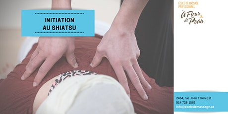 Initiation Shiatsu (15h) billets