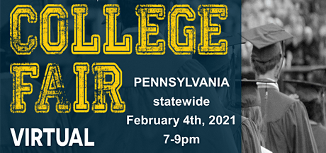 Pennsylvania Virtual College Fair tickets