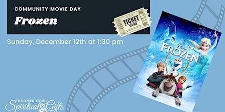 Family Movie Day: Frozen tickets