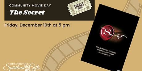 Community Movie Night: The Secret tickets