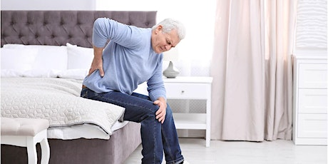 SIH Second Act Time To Manage Your Back Pain tickets