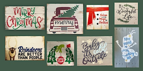 TAKE HOME!!! Holiday Sign Painting at Springfield 11/29 tickets