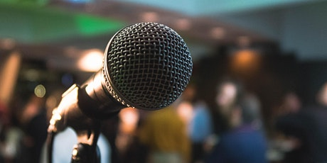 Get better at public speaking! Free online meeting tickets