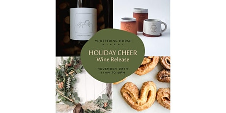 HOLIDAY CHEER SIP + SHOP tickets