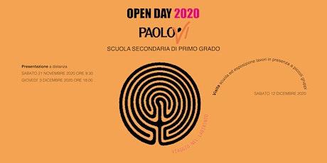 Open Day 2020 - Scuola Paolo VI tickets