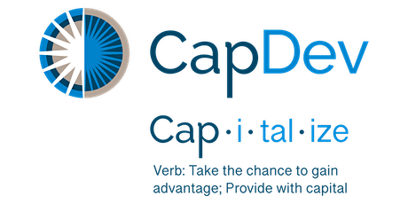 CapDev CAPitalize Workshop Series: Session 2 tickets