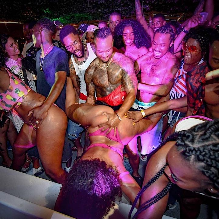 HIP HOP MIAMI PARTY BOAT image