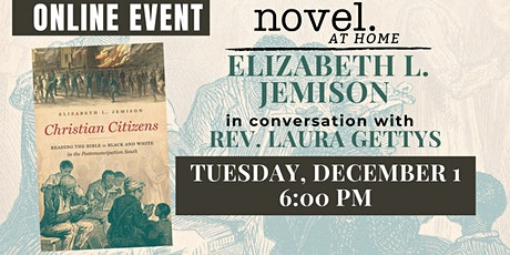 NOVEL AT HOME: ELIZABETH L. JEMISON WITH REV. LAURA GETTYS tickets