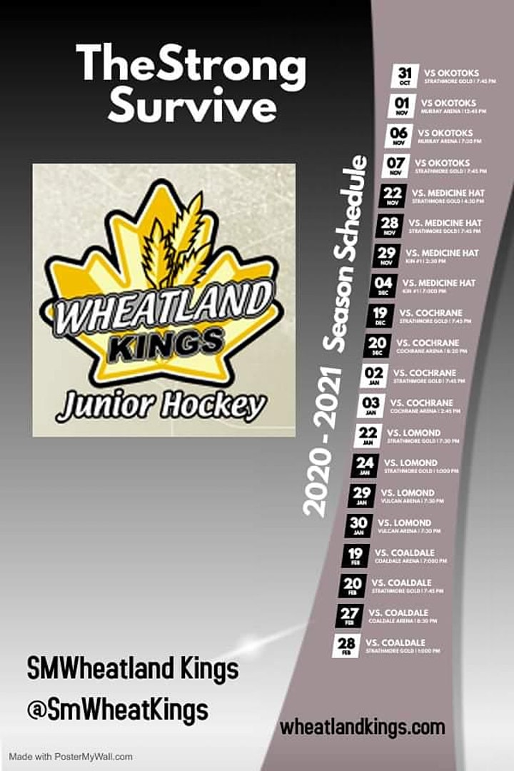 Wheatland Kings Game  10 vs Coaldale Copperheads image