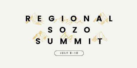 Regional Sozo Summit tickets