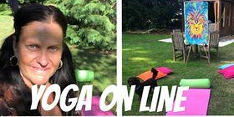Yoga on Line-Restorative with meditation ingressos