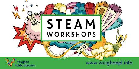 STEAM Workshops: Playdough Animation Fun! (Bilingual English & French) tickets