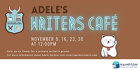 Adele's Writers Café tickets