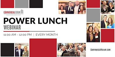 CommercialForum Power Lunch tickets