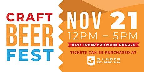 Craft Beerfest tickets