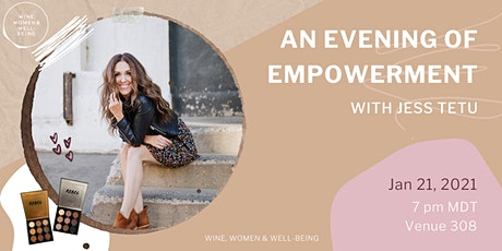 An Evening of Empowerment with Jess Tetu: Calgary tickets