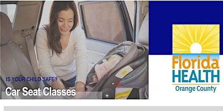 Safe Ride 4 Babies - Spanish - Virtual Class tickets