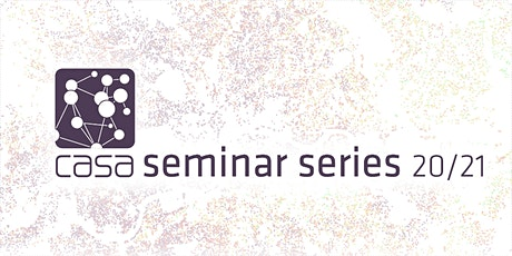 CASA Seminar Series: Sarah Williams, MIT tickets