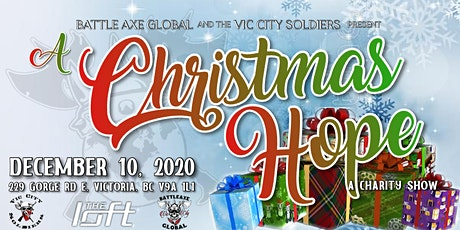 3rd Annual A Christmas Hope Charity Show tickets