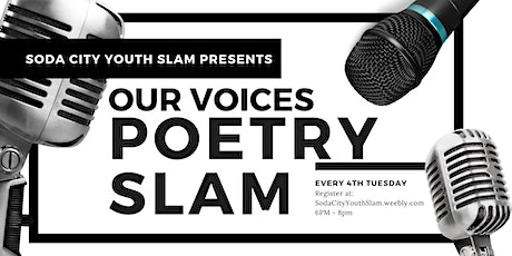 Our Voices Poetry Slam tickets