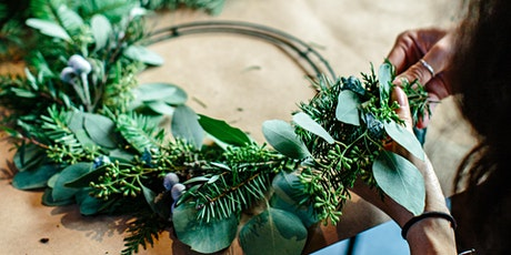 Holiday Wreath Making Masterclass tickets