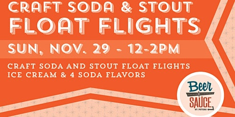 Craft Beer & Craft Soda Beer Float Flights tickets
