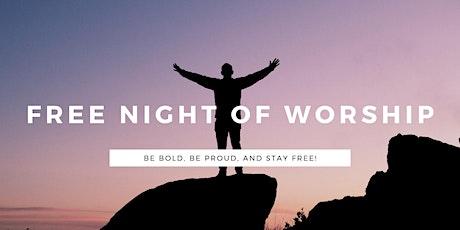 Free Worshipper - Night Of Worship tickets