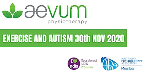 Exercise and Autism tickets