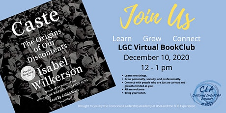 LGC  Virtual BookClub (learn, grow, connect) tickets