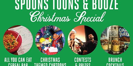 Spoons, Toons & Booze - Christmas Special tickets