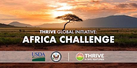 THRIVE AFRICA CHALLENGE tickets
