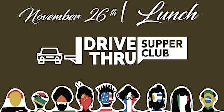 THANKSGIVING SYRIAN DRIVE-THRU SUPPER CLUB tickets