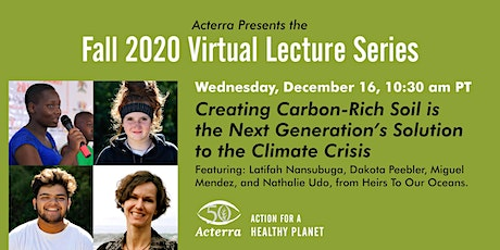 Acterra Lecture: Carbon-Rich Soil is the Next Generation's Solution tickets