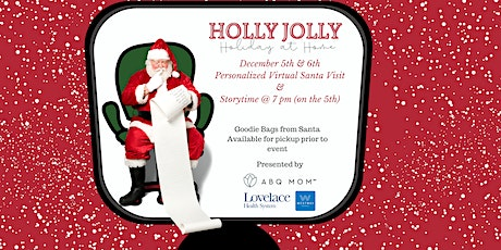 Holly Jolly Holiday at Home :: Personalized Virtual Visit & Story Time with tickets