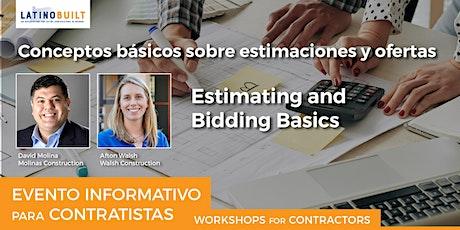 Estimating and Bidding Basics tickets