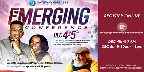 The Emerging Conference tickets