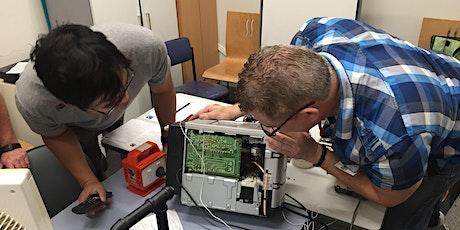 Electronics Repair Café with the Bower billets