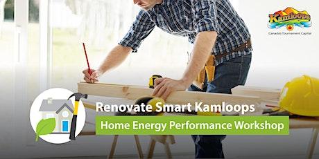 Renovate Smart Kamloops Virtual Home Energy Performance Workshop biglietti