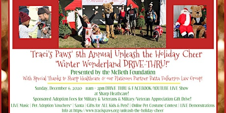 5th Annual Unleash the Holiday Cheer DRIVE-THRU! tickets