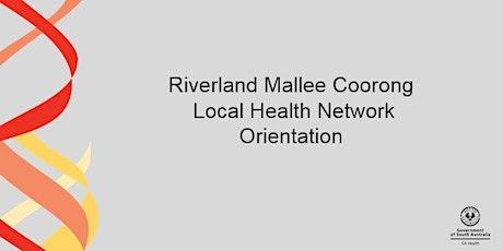 RMCLHN Orientation - MURRAY BRIDGE-11 August 2021 tickets