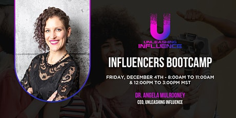 Influencers Bootcamp tickets