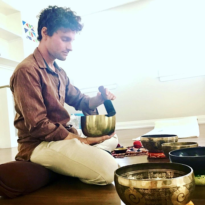 Sound Bath with Tibetan Singing Bowls  - Fr July 23rd image